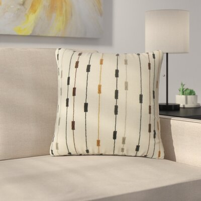 Strickler Stripes Throw Pillow