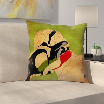 Kasi Minami Grim Reaper2 Throw Pillow Size: 14 x 14