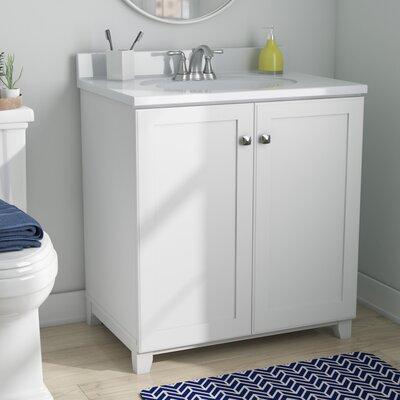 Rosalynn 31 Single Bathroom Vanity Base Finish: White