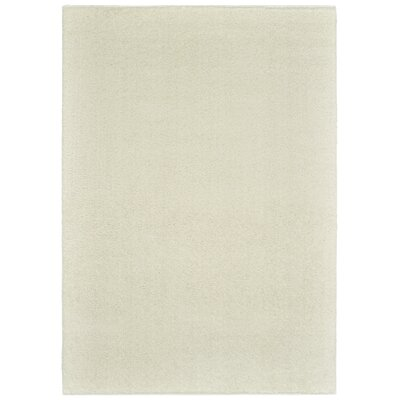 Maddox Ivory Area Rug Rug Size: Rectangle 53 x 76