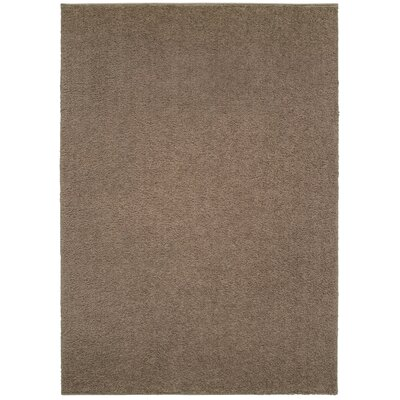 Maddox Brown Area Rug Rug Size: Rectangle 910 x 1210