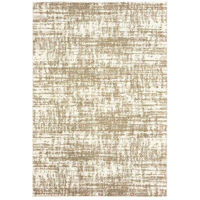 Maddox Ivory/Taupe Area Rug Rug Size: Rectangle 910 x 1210