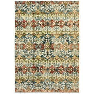 Hedberg Ivory Area Rug Rug Size: Rectangle 910 x 1210