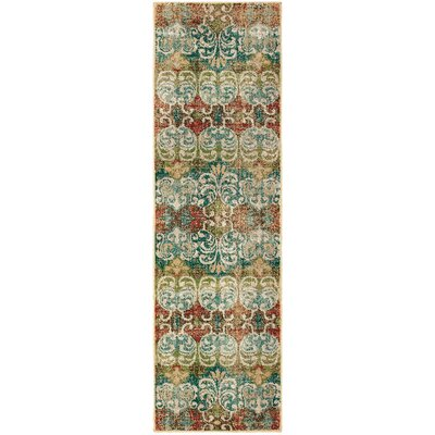 Hedberg Ivory Area Rug Rug Size: Rectangle 23 x 76