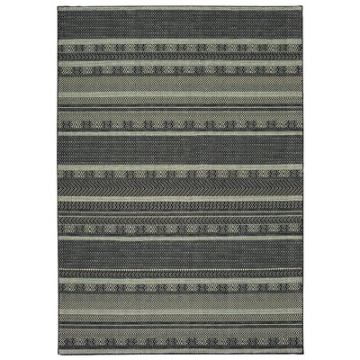 Hedden Black/Beige Area Rug Rug Size: Rectangle 910 x 1210