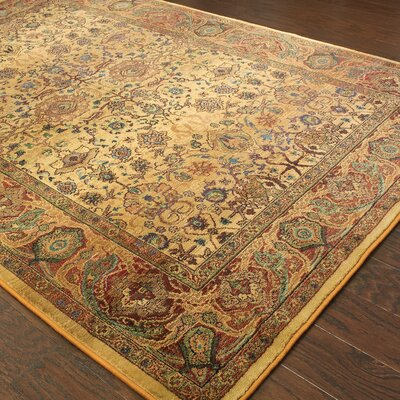 Pressley Brown Area Rug Rug Size: Rectangle 53 x 76