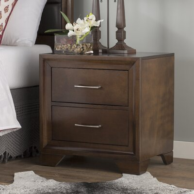 Mcdowell 2 Drawer Nightstand