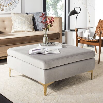 Kingston Seymour Coffee Table Table Top Color: Gray