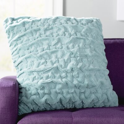 Renee Throw Pillow Color: Aqua