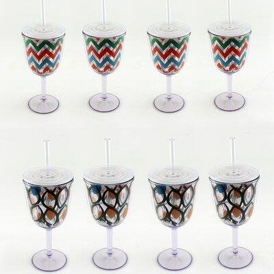 Acrylic Plastic 13oz. Wine Glass 2211847