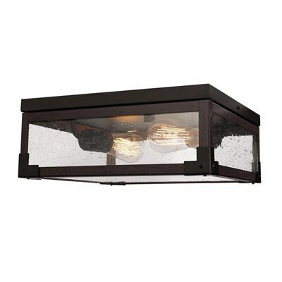 Hudson Square 2-Light Flush Mount