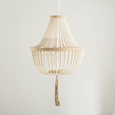 Lyon 3-Light Geometric Pendant Finish: Cream