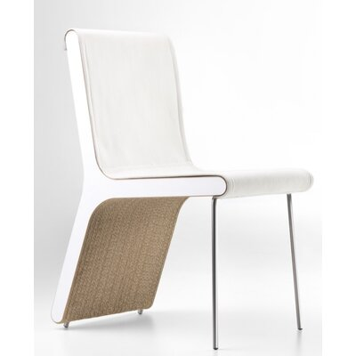 Hervey Upholstered Dining Chair Upholstery Color: Eco Leather White