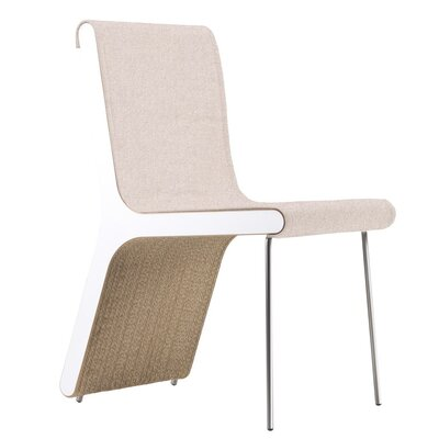 Hervey Upholstered Dining Chair Upholstery Color: Sand Cotton