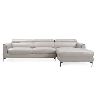 Helton Leather Sectional