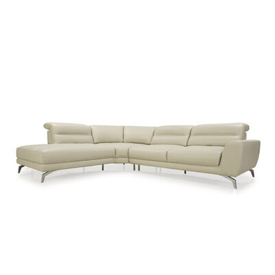 Arnisha Leather Sectional