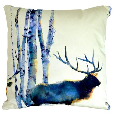 Jorgenson Prancer Indoor/Outdoor Throw Pillow