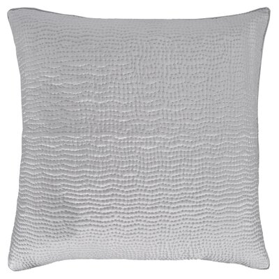 Hammered Sham Color: Silver