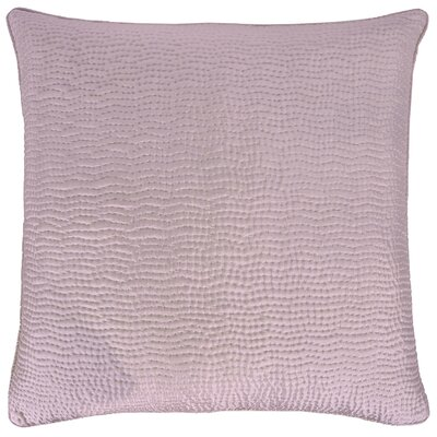Hammered Sham Color: Lilac