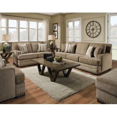 Nakia 2 Piece Living Room Set