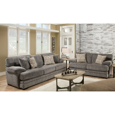 Tuten 2 Piece Living Room Set