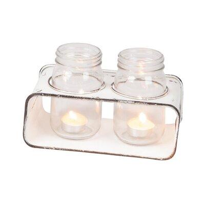 Cup 2 Piece Glass Votive Holder Set 8A0A0D255D4C4EB681BAAA25B7420515