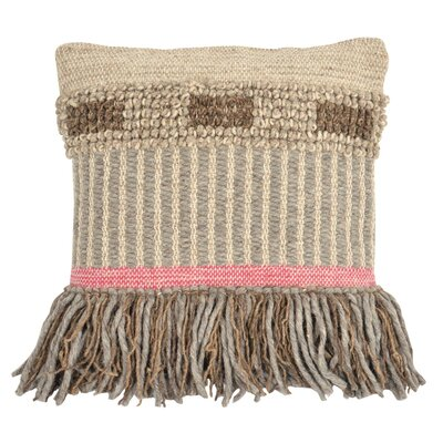 Paulin Cottage Hand-Woven Throw Pillow