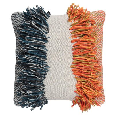 Pecor Hand-Woven Throw Pillow