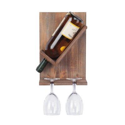 Willbanks Pure Bottle Wall Mounted Wine Rack