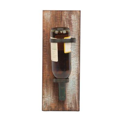 Wiltse 1 Bottle Wall Mounted Wine Holder