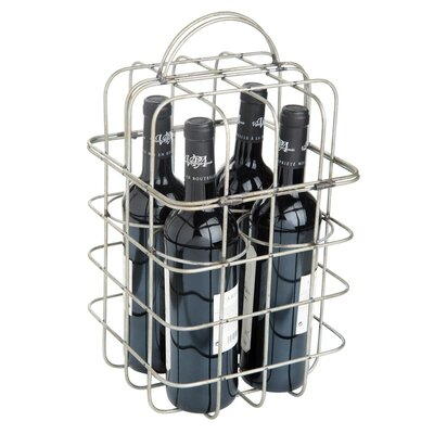 Wimberley Wire 4 Bottle Tabletop Wine Holder