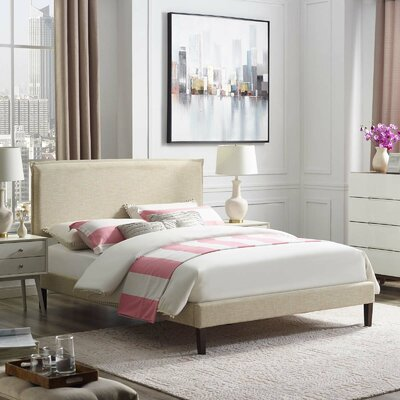 Fincastle Upholstered Platform Bed Size: King