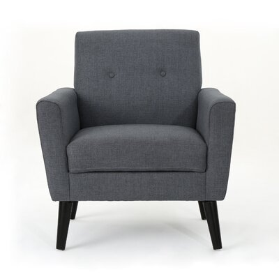 Soares Club Chair Upholstery: Dark Gray