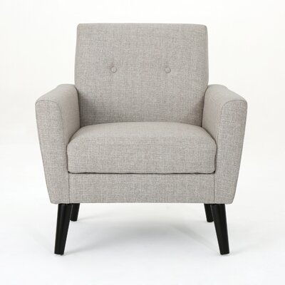 Soares Club Chair Upholstery: Beige