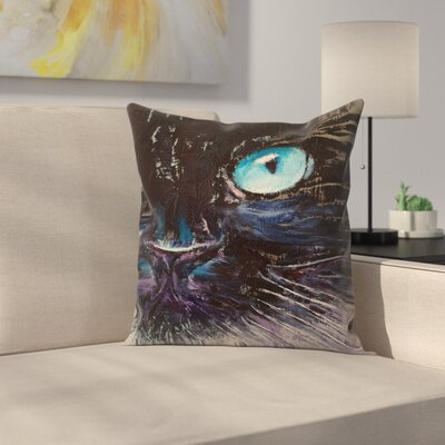 Michael Creese Himalayan Cat Throw Pillow Size: 16 x 16