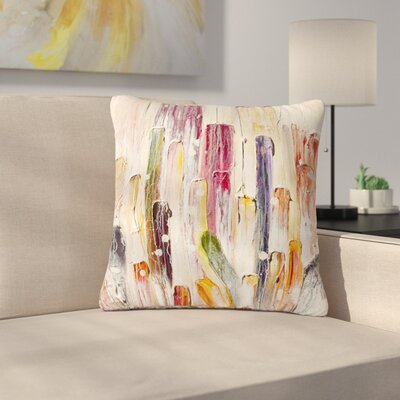 Steven Dix Candy Icing Outdoor Throw Pillow Size: 18 H x 18 W x 5 D