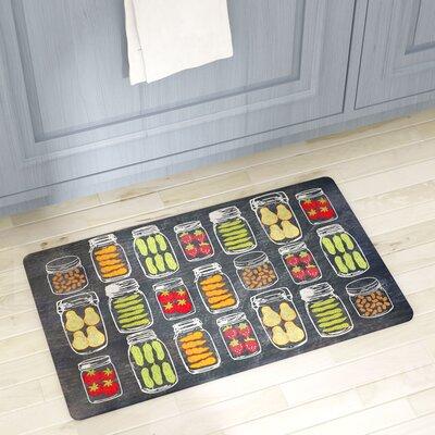 Haymarket Veggie Jars Kitchen Mat