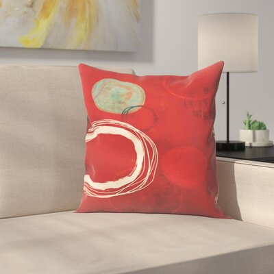 Tracie Andrews at the Centre of It All Throw Pillow Size: 18 x 18