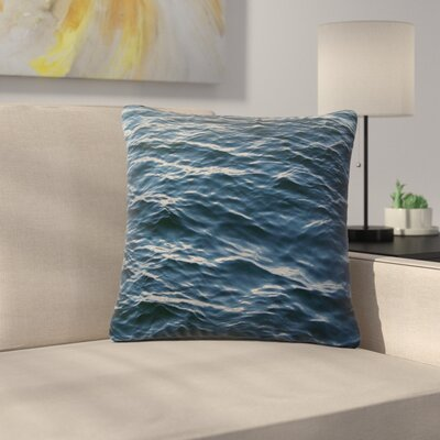 Suzanne Carter Deep Water Nautical Outdoor Throw Pillow Size: 16 H x 16 W x 5 D