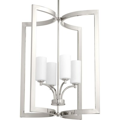 Hilson 4-Light Geometric Pendant