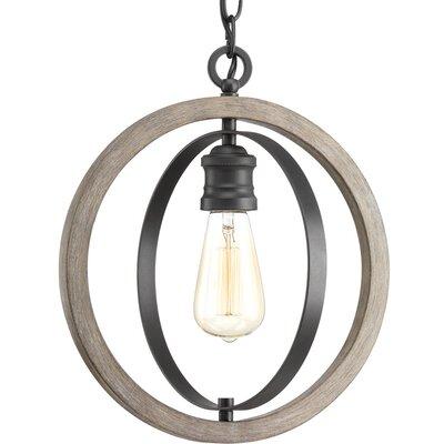 Mccurley 1-Light Globe Pendant Finish: Graphite