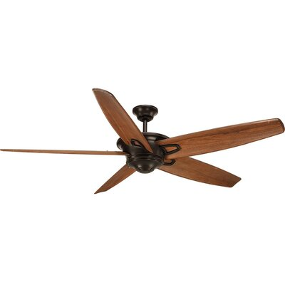Gehl 5 Blade Ceiling Fan Motor Finish: Black