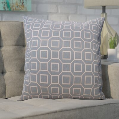 Haney Outdoor Throw Pillow Color: Robin