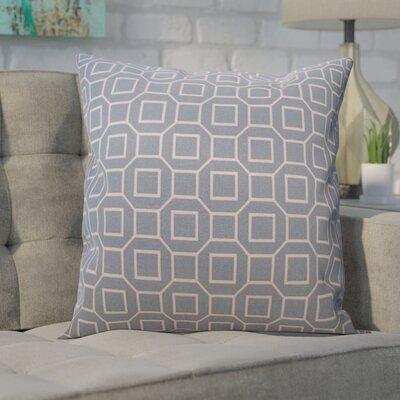 Haney Outdoor Throw Pillow Color: Robin