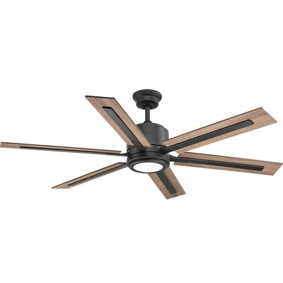 Lesure 6 Blade LED Ceiling Fan with Remote