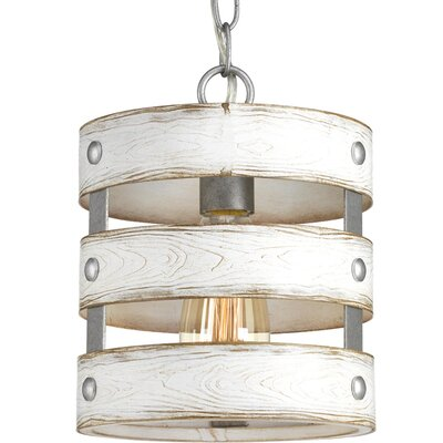 Emaria 1-Light Drum Pendant