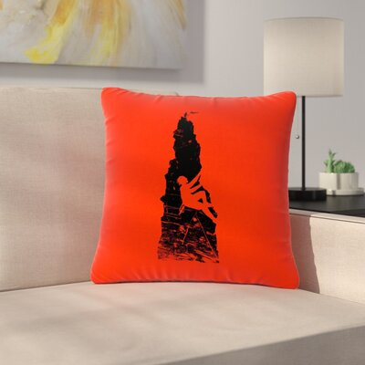 BarmalisiRTB Climbing Outdoor Throw Pillow Size: 16 H x 16 W x 5 D