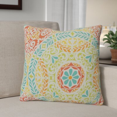 Schwarz Indoor/Outdoor Throw Pillow