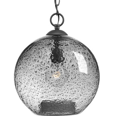 Cebes 1-Light Pendant Finish: Graphite