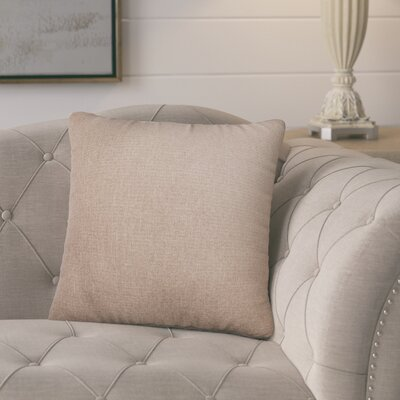 Knipp Throw Pillow Color: Linen